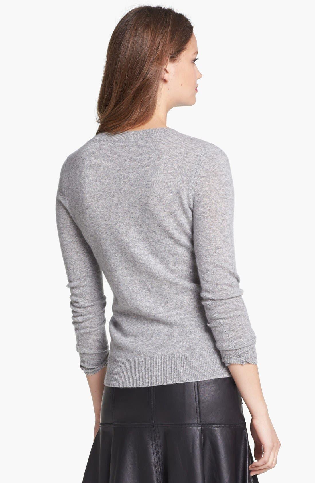 Alternate Image 2  - Only Mine Cashmere Blend Crewneck Sweater