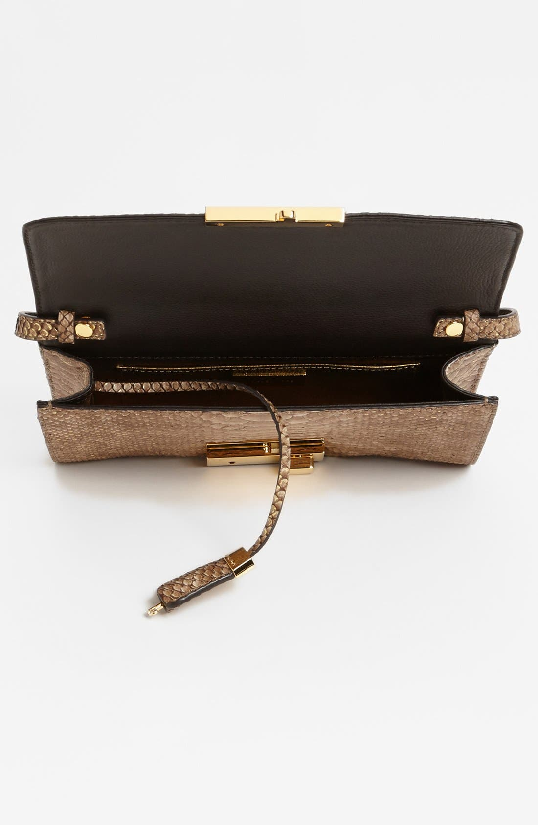 Alternate Image 3  - Michael Kors 'Gia' Python Embossed Clutch