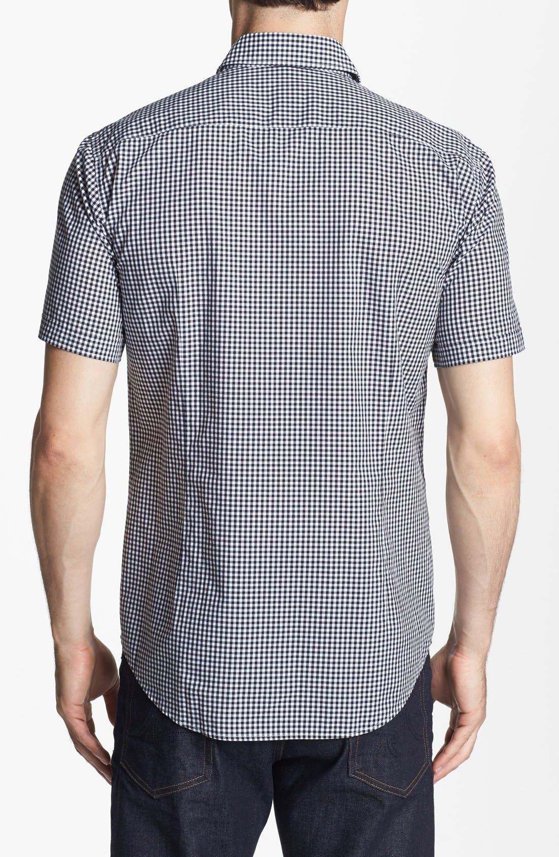 Alternate Image 2  - BOSS HUGO BOSS 'Marc' Slim Fit Short Sleeve Sport Shirt