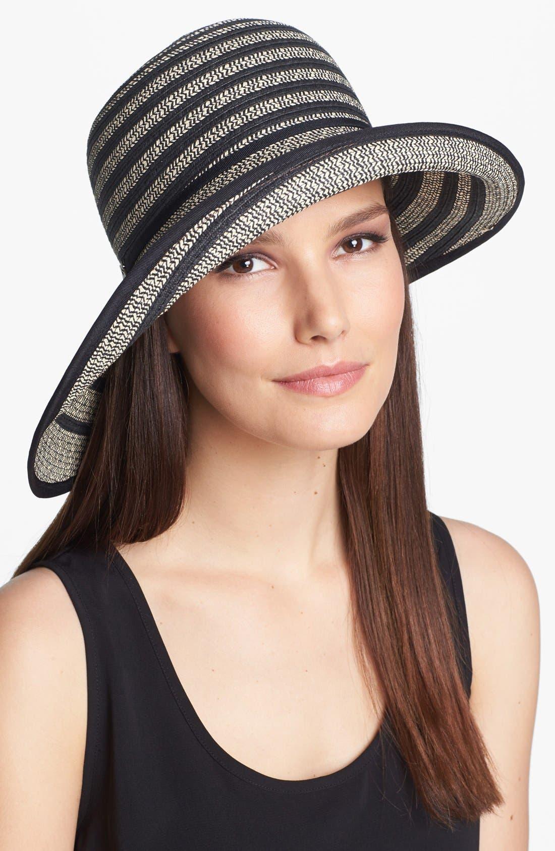 Alternate Image 1 Selected - BCBGMAXAZRIA Wide Brim Hat