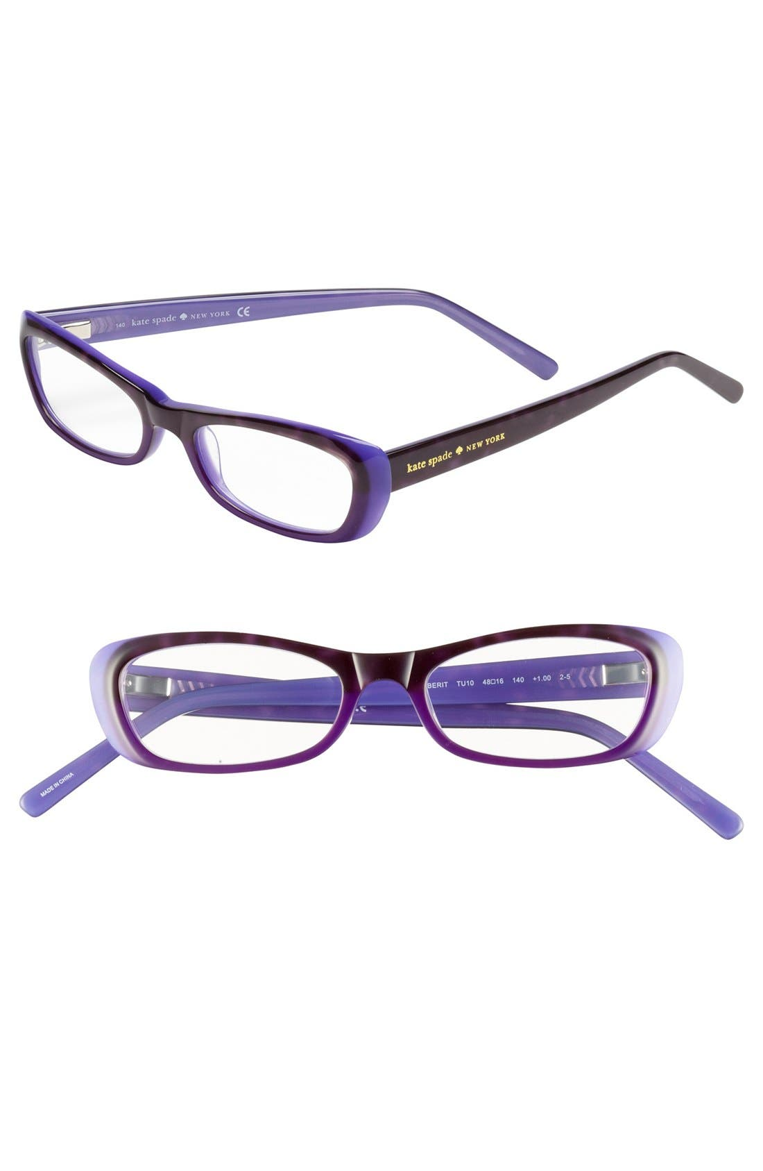 Alternate Image 1 Selected - kate spade new york 'berit' reading glasses (Online Only)