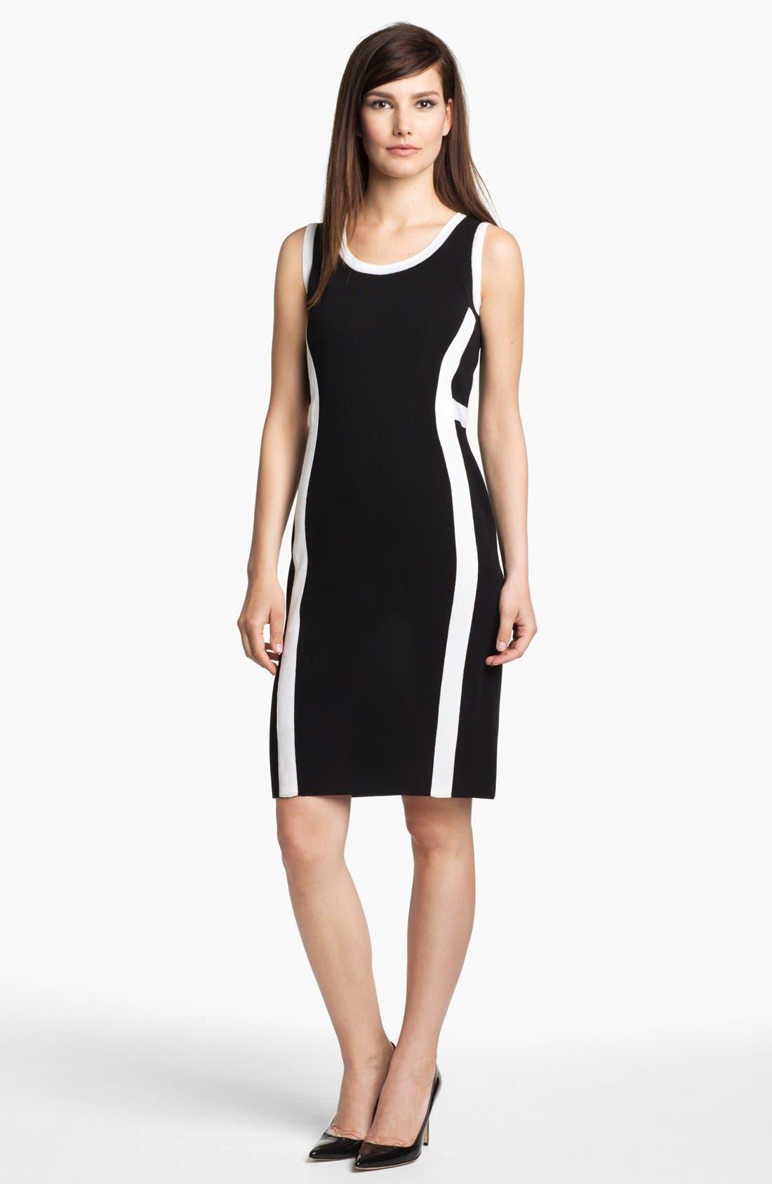Alternate Image 1 Selected - Misook 'Carrie' Dress (Petite)