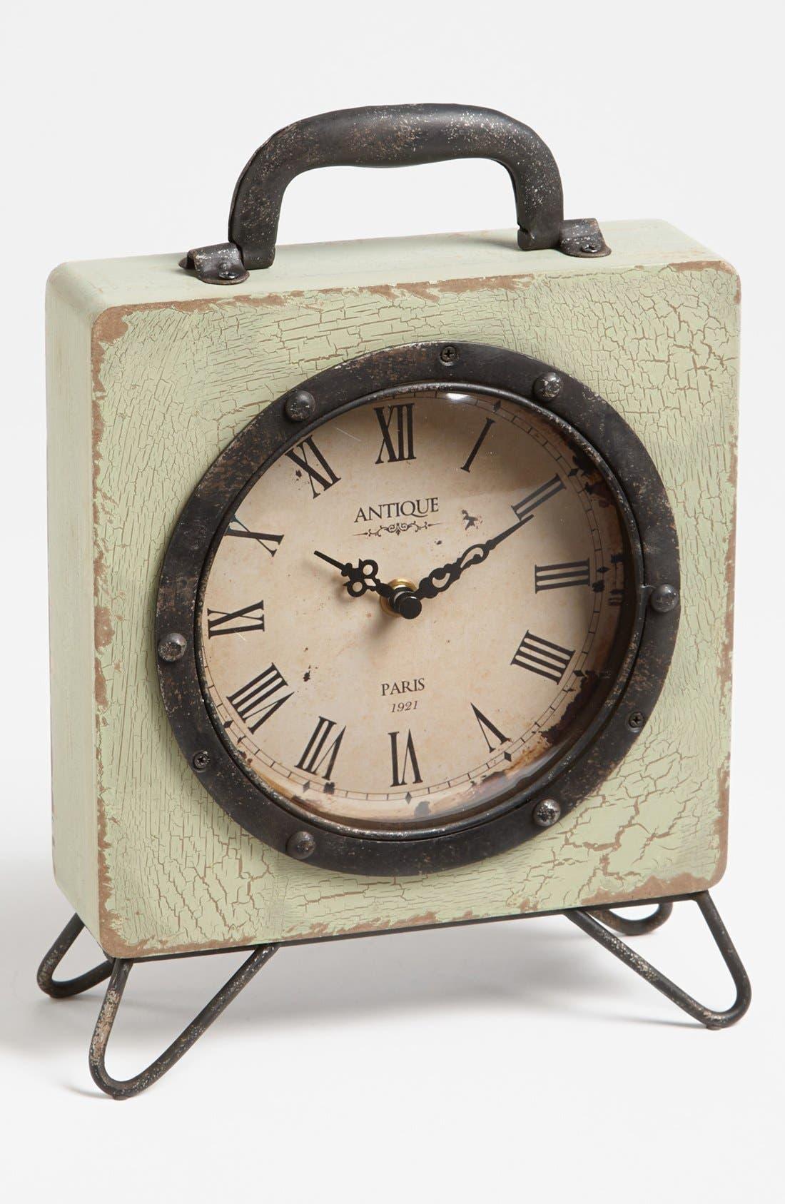 Alternate Image 1 Selected - 'Billie' Vintage Iron Table Clock