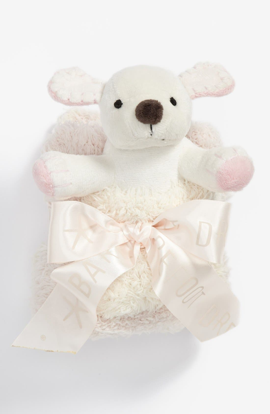 Alternate Image 1 Selected - Barefoot Dreams® Pocket Buddies & Blanket (Little Kid)
