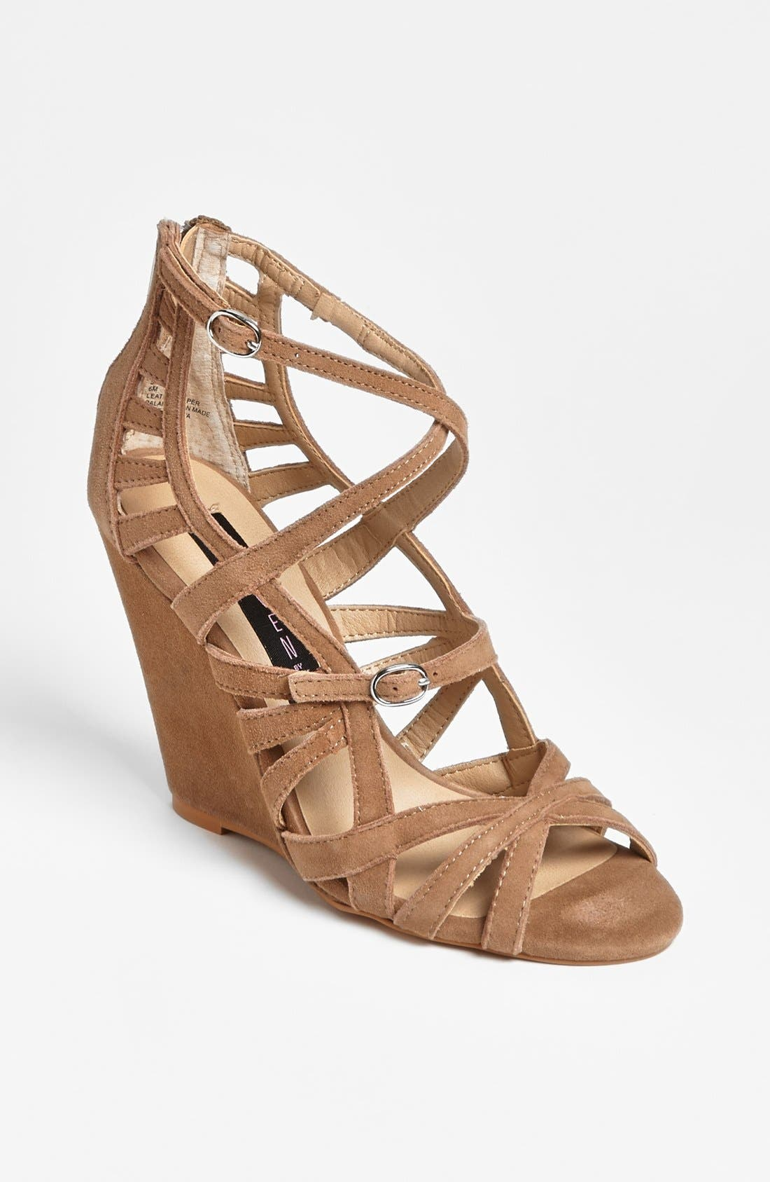 Alternate Image 1 Selected - Steven by Steve Madden 'Stellir' Wedge Sandal