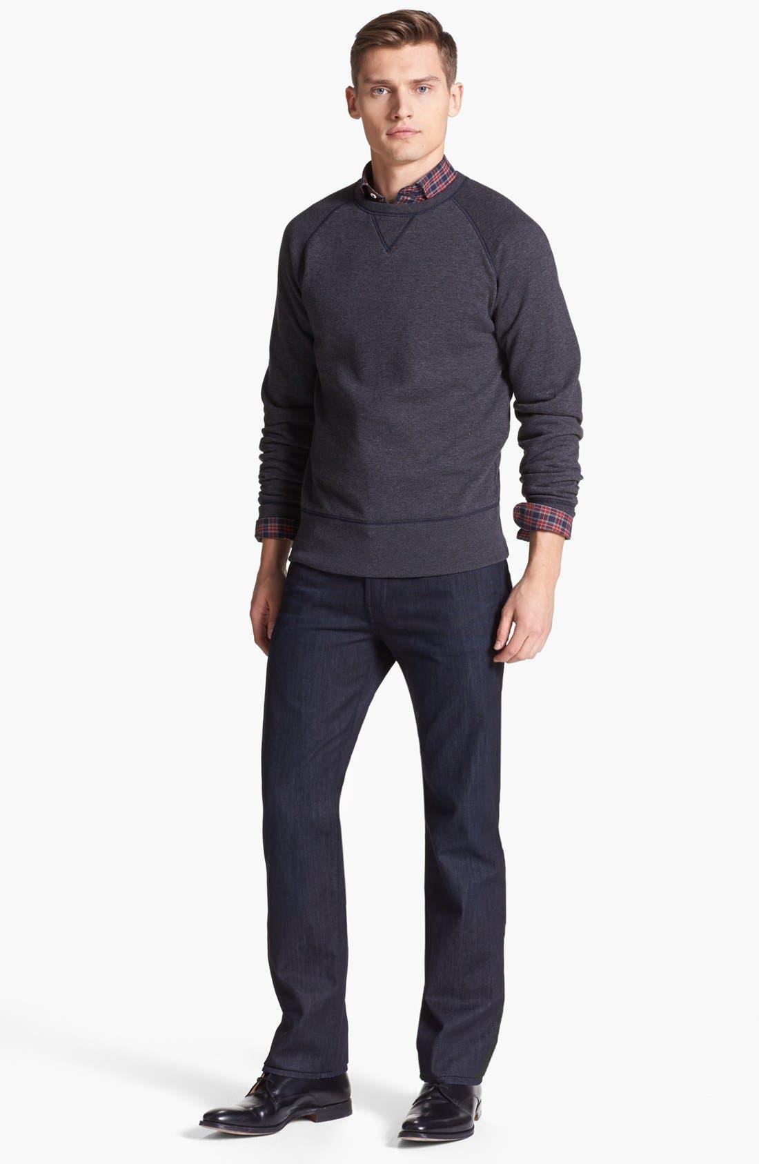 Alternate Image 4  - Billy Reid 'John T' Plaid Woven Shirt