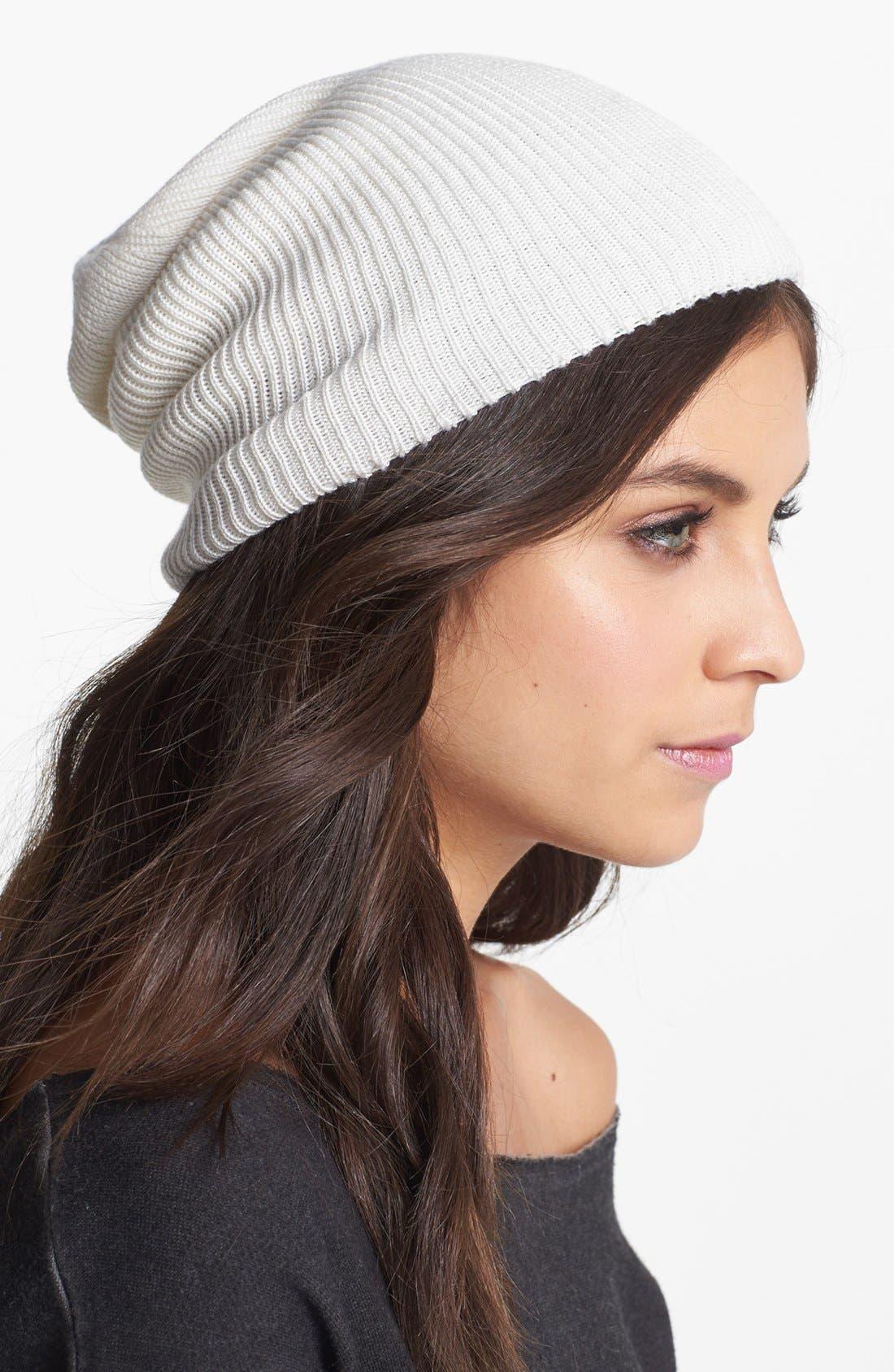 Alternate Image 1 Selected - Echo 'Seasonless' Slouchy Knit Cap