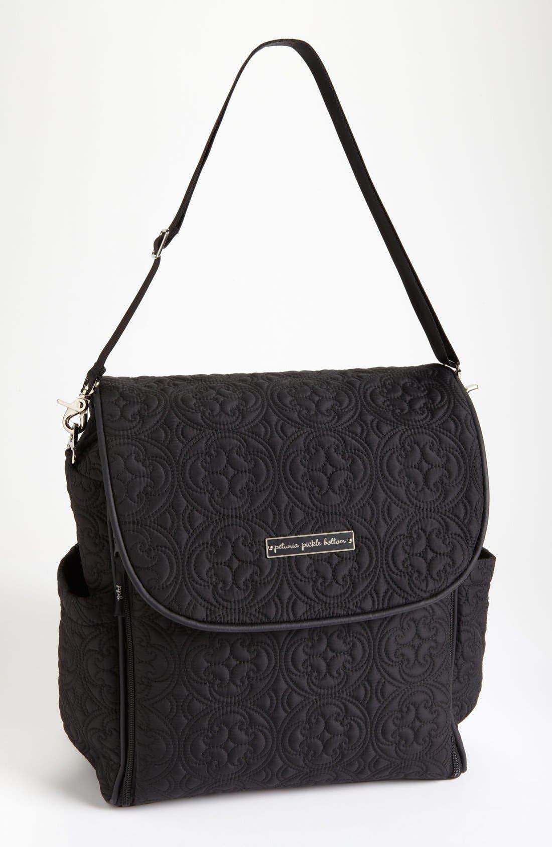 Alternate Image 1 Selected - Petunia Pickle Bottom 'Embossed Boxy' Backpack Diaper Bag