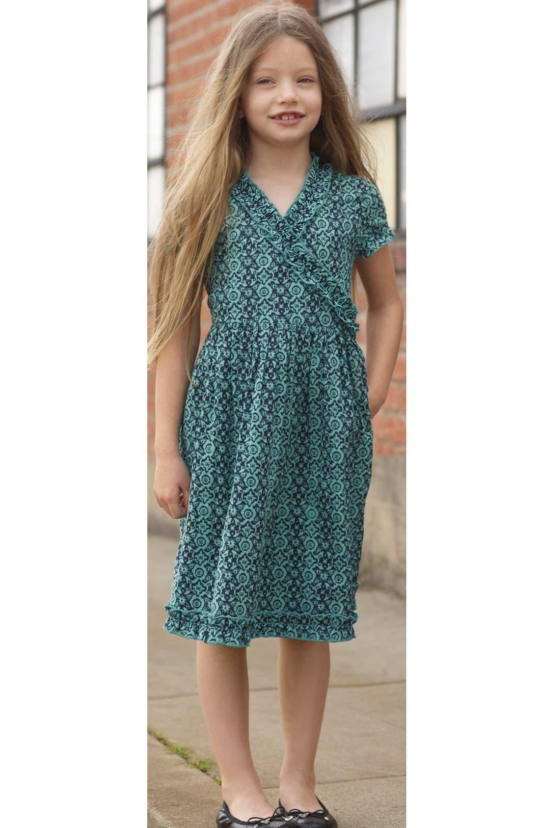 Alternate Image 2  - Peek 'Cristina' Wrap Dress (Toddler Girls, Little Girls & Big Girls)