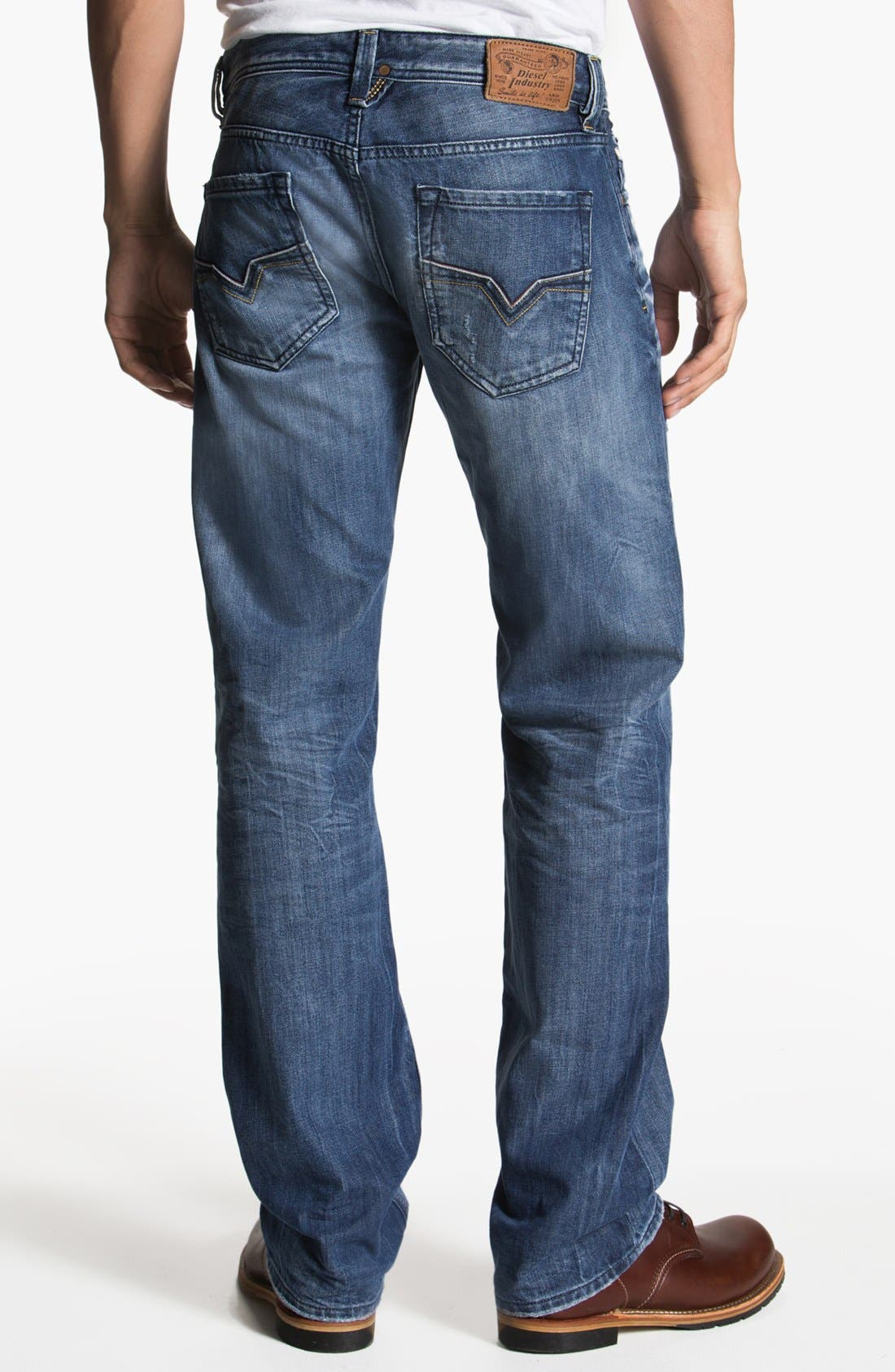 Alternate Image 1 Selected - DIESEL® 'Larkee' Straight Leg Jeans (0805Q)