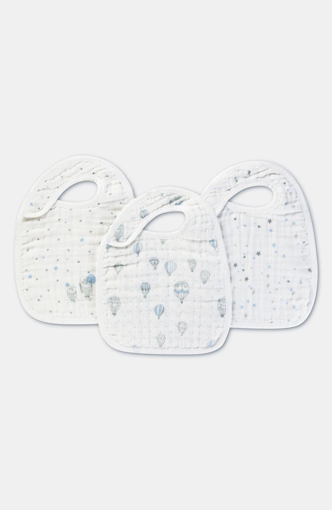 Alternate Image 1 Selected - aden + anais Snap Bibs (3-Pack)