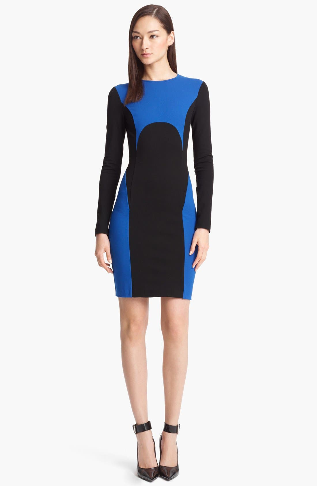 Alternate Image 1 Selected - Michael Kors Colorblock Jersey Dress