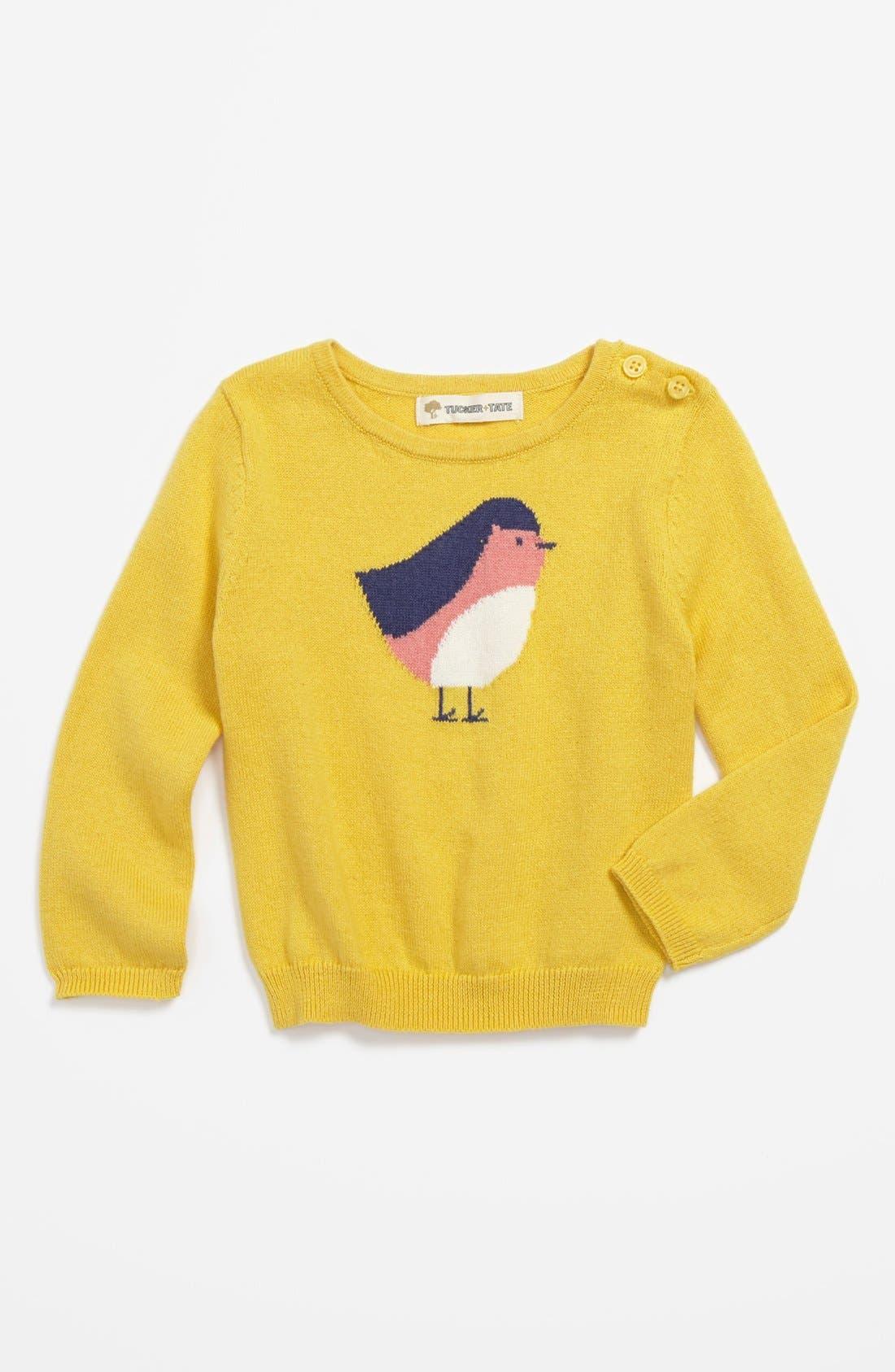 Alternate Image 1 Selected - Tucker + Tate 'Alexa' Intarsia Sweater (Baby Girls)