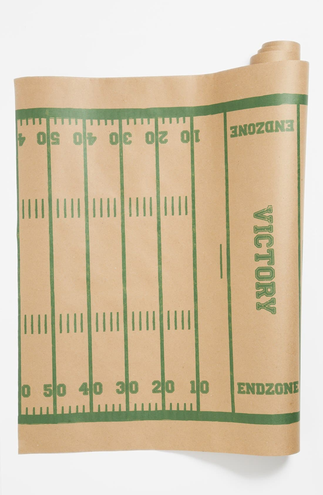 Alternate Image 1 Selected - Kitchen Papers by Cake 'Football Field' Paper Table Runner