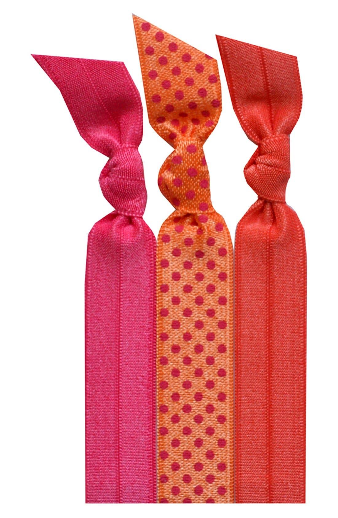 Alternate Image 1 Selected - Emi-Jay 'Orange' Hair Ties (3-Pack)