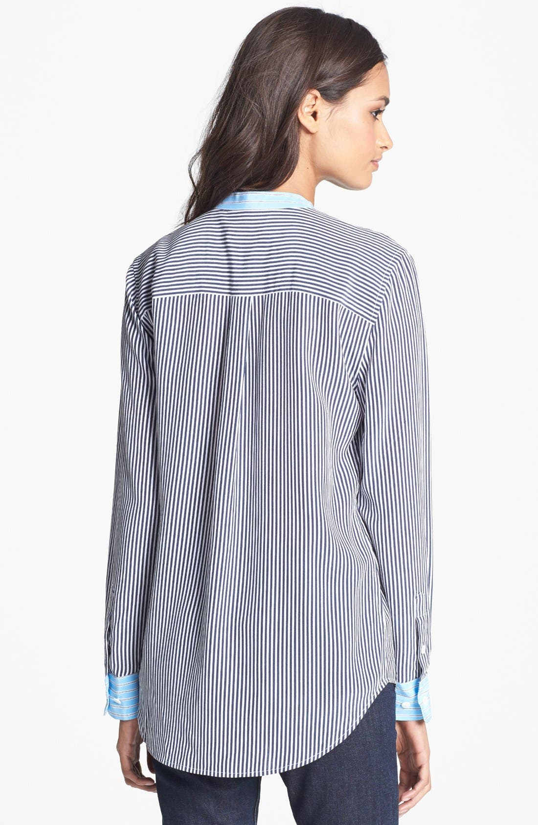 Alternate Image 2  - Equipment 'Slim Signature' Silk Shirt