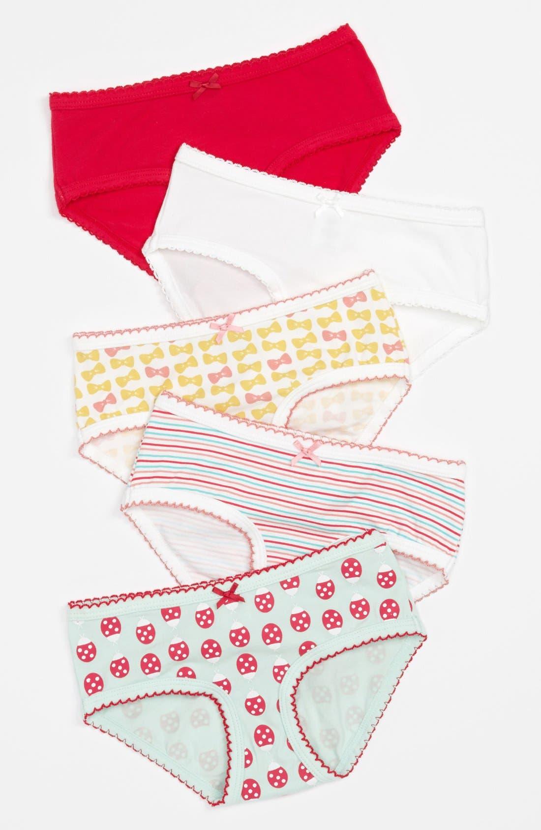 Main Image - Tucker & Tate Briefs (5-Pack) (Toddler Girls)