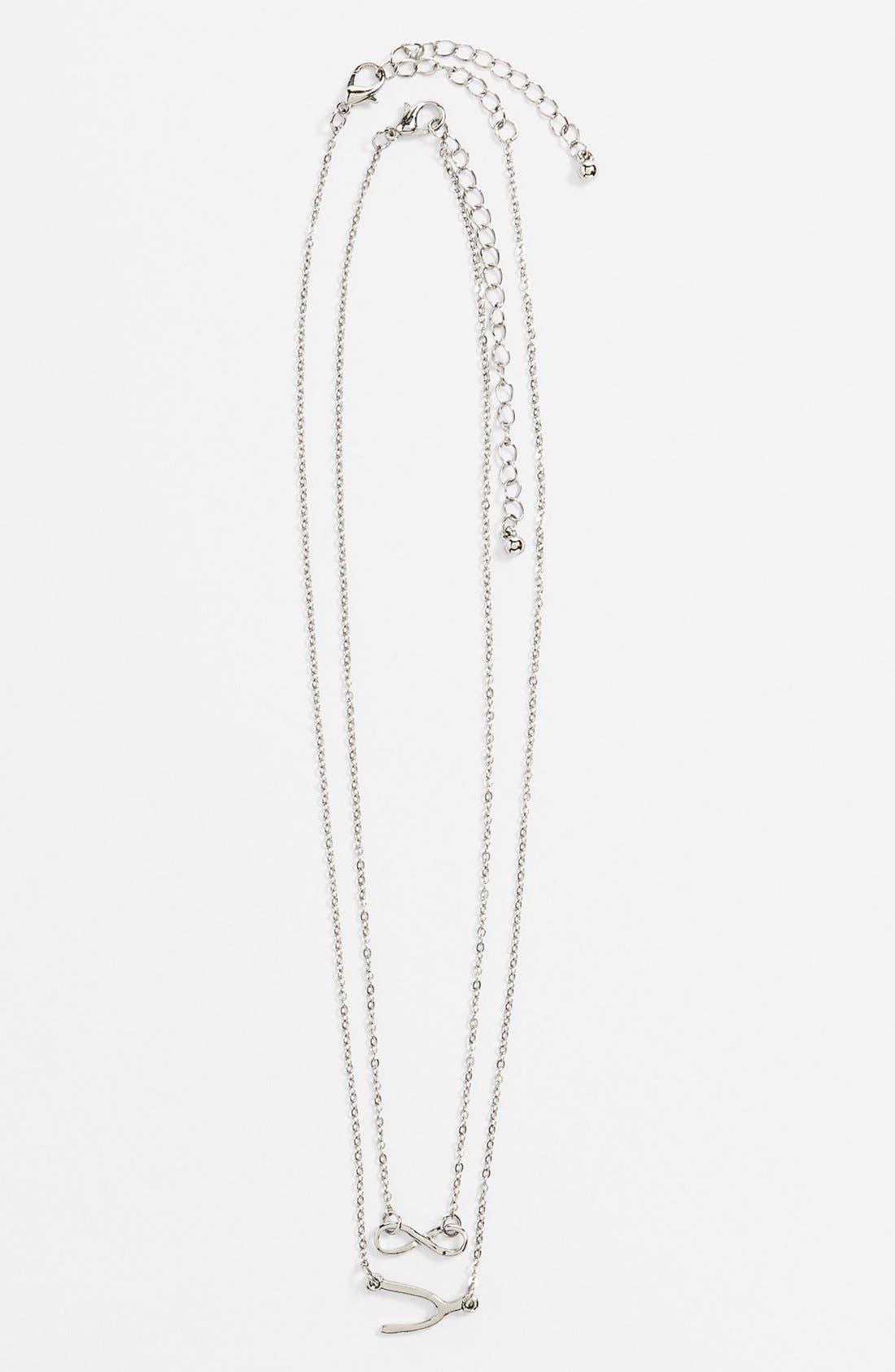 Main Image - BP. Charm Necklaces (Set of 2) (Juniors)