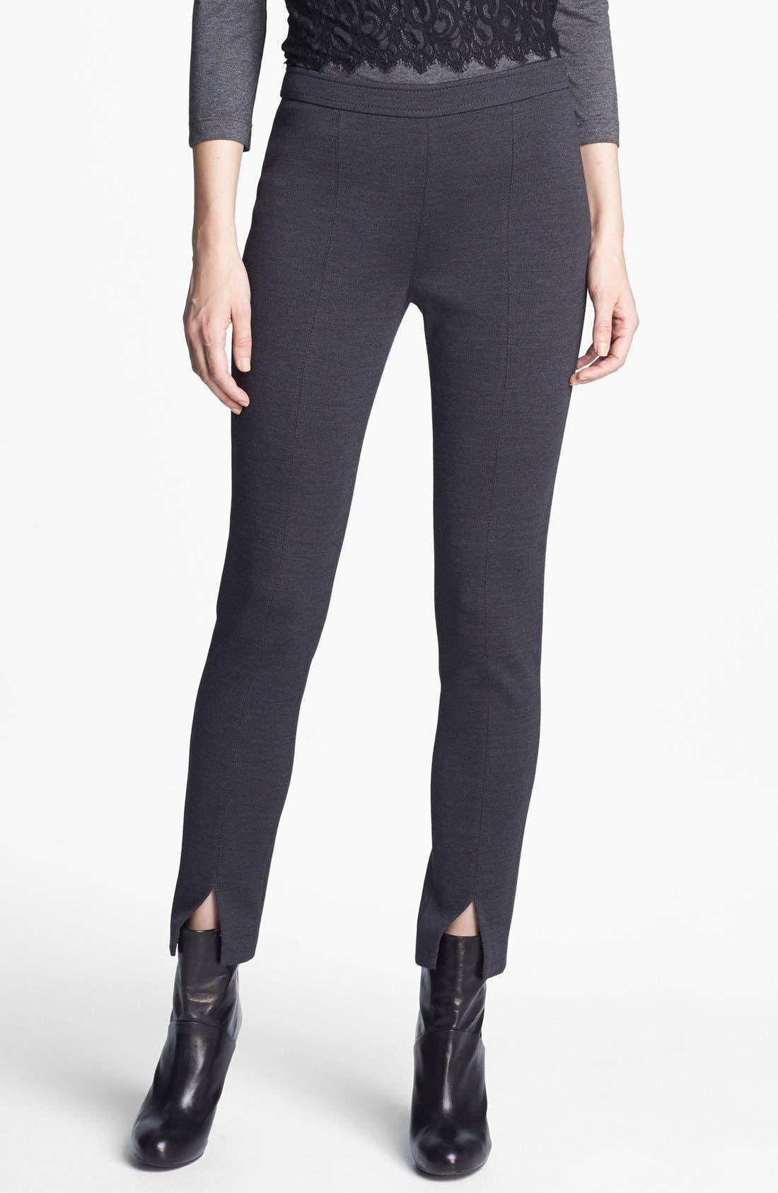 Main Image - St. John Collection 'Jennifer' Slim Milano Knit Pants
