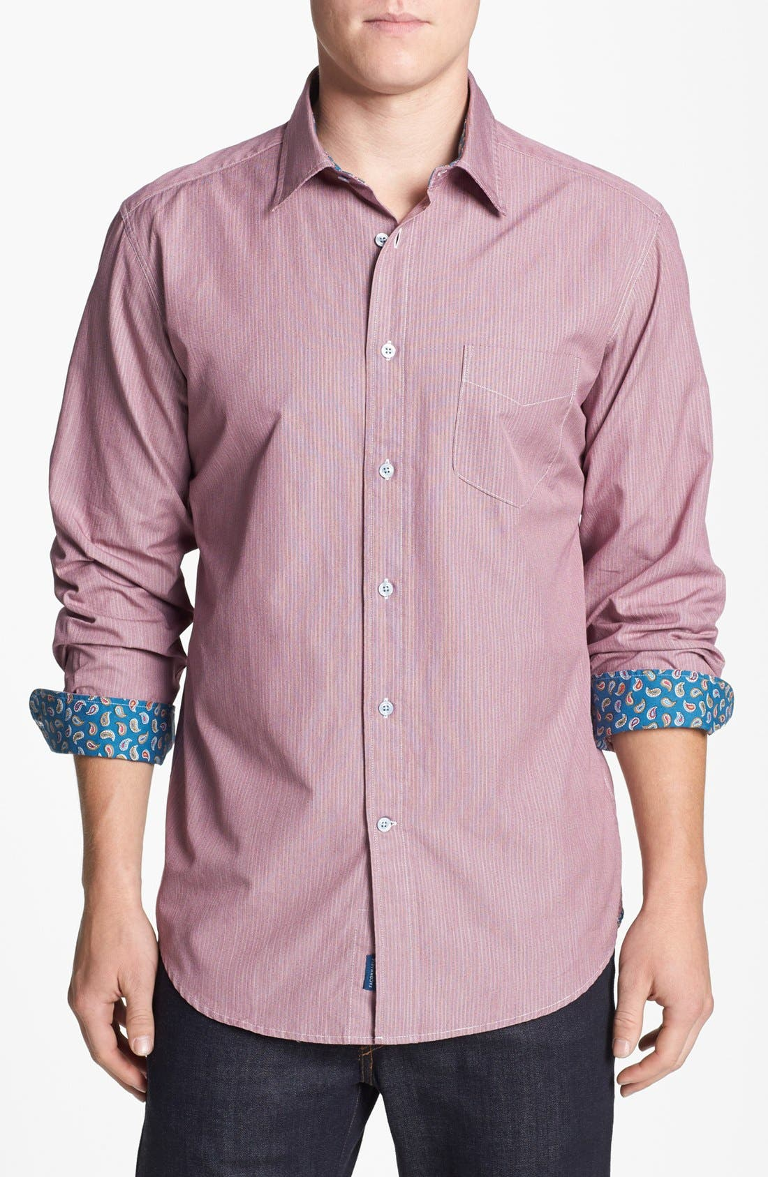 Alternate Image 1 Selected - Façonnable Regular Fit Sport Shirt