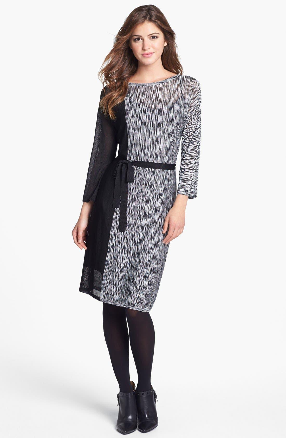 Alternate Image 4  - Trina Turk Print Tie Waist Shift Dress