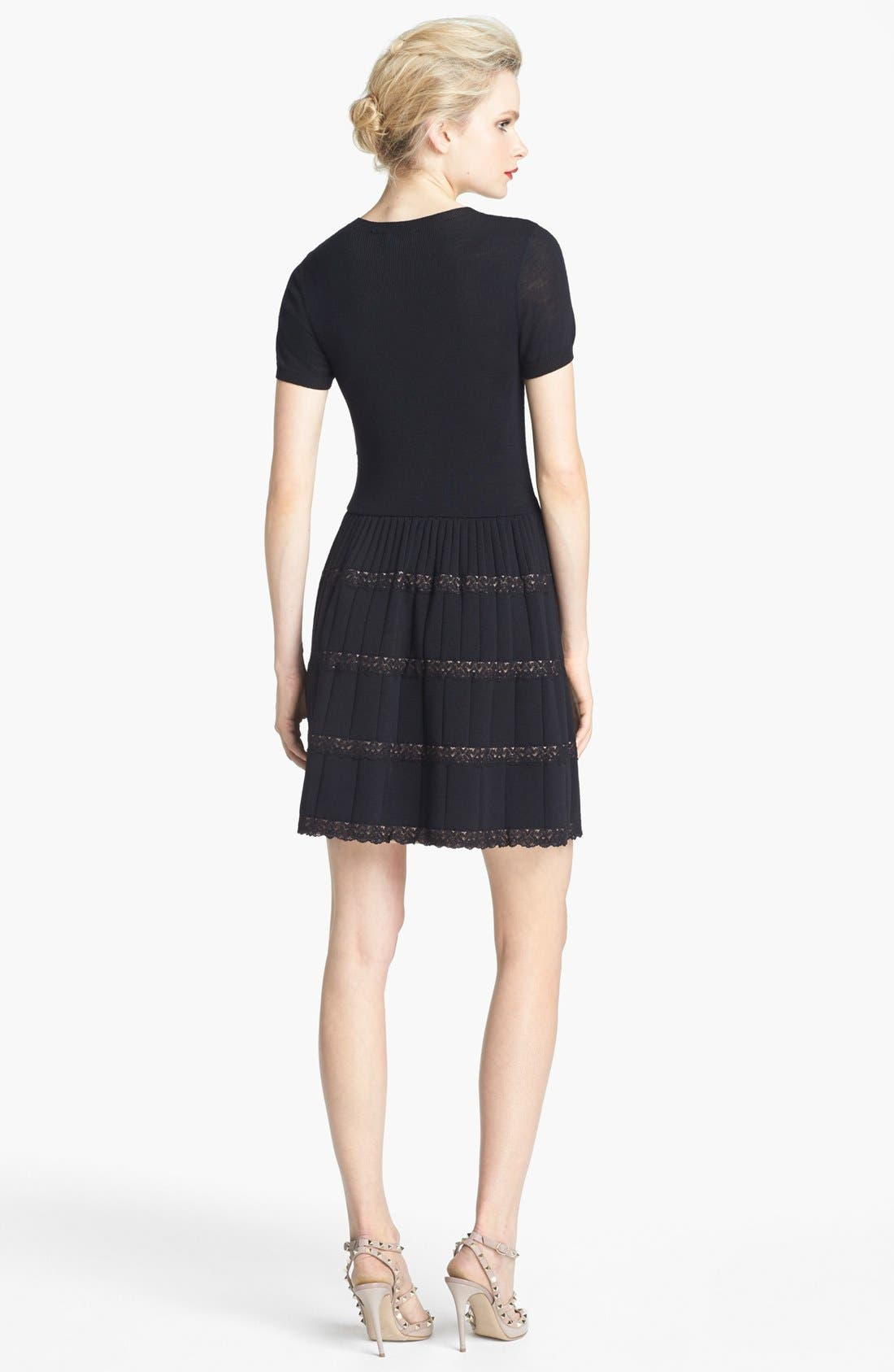 Alternate Image 2  - RED Valentino Knit Dress
