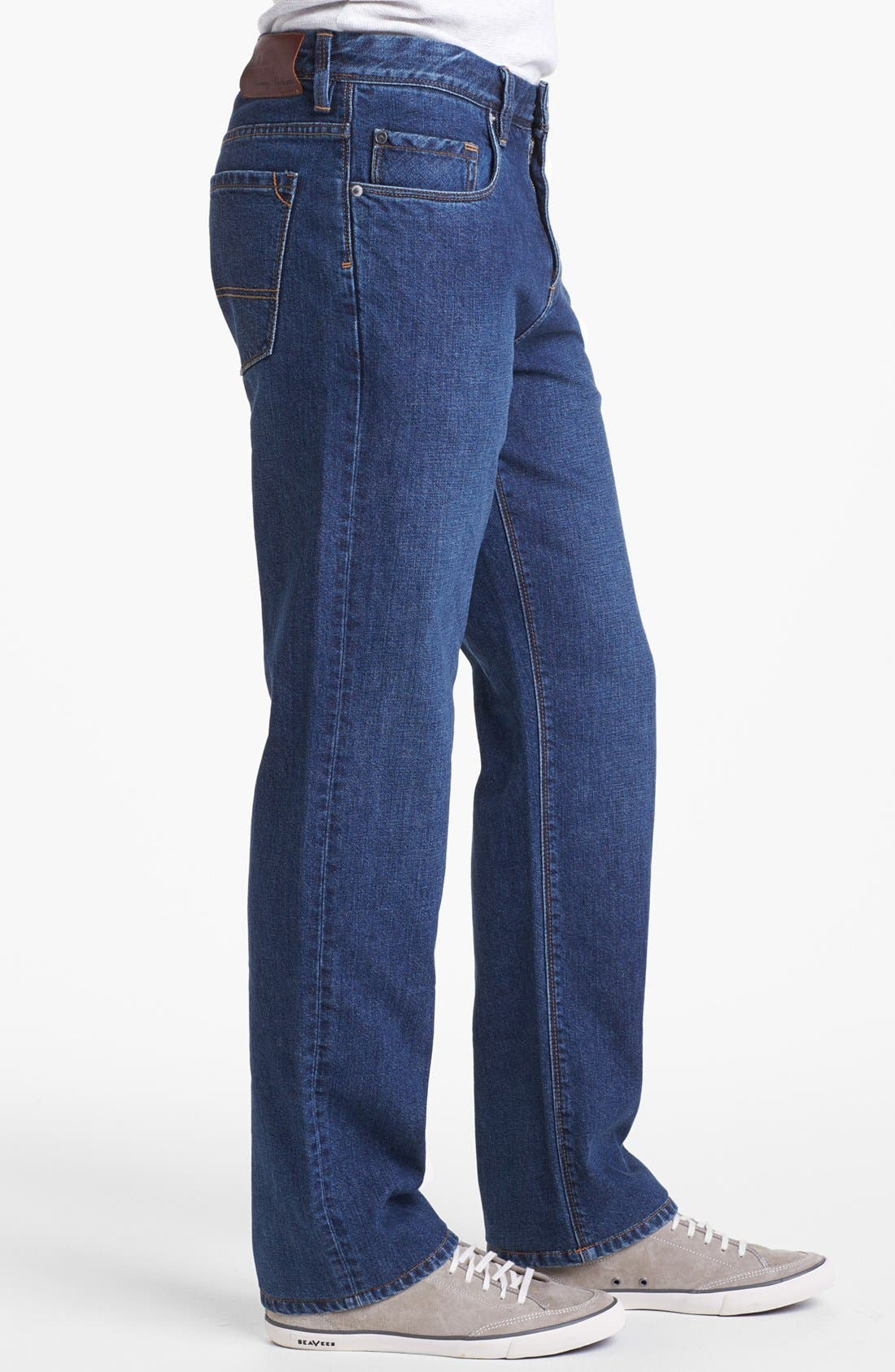 Alternate Image 3  - Tommy Bahama Denim 'Stevie' Standard Fit Jeans (Dark Wash)
