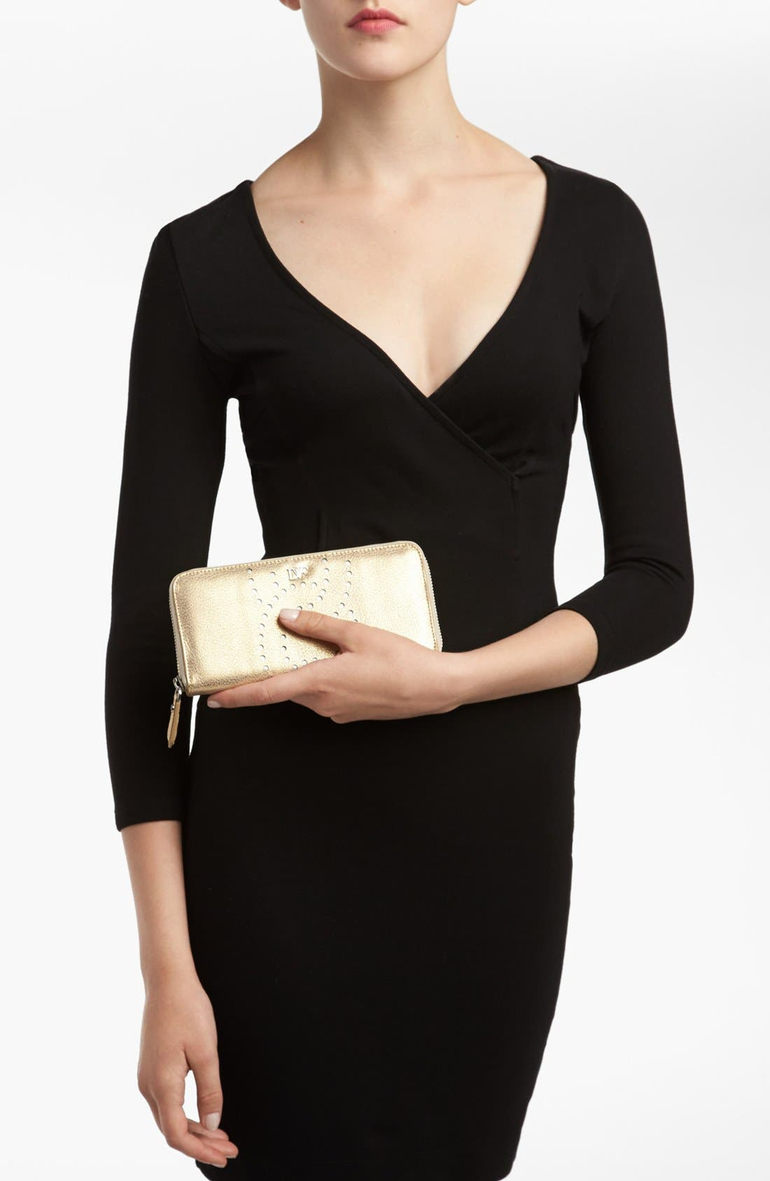 Alternate Image 4  - Diane von Furstenberg 'Sutra' Leather Wallet