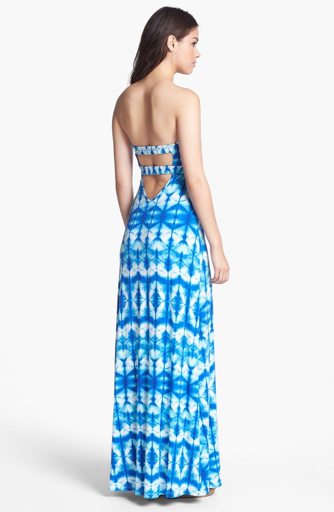 Alternate Image 2  - Tart Strapless Print Maxi Dress