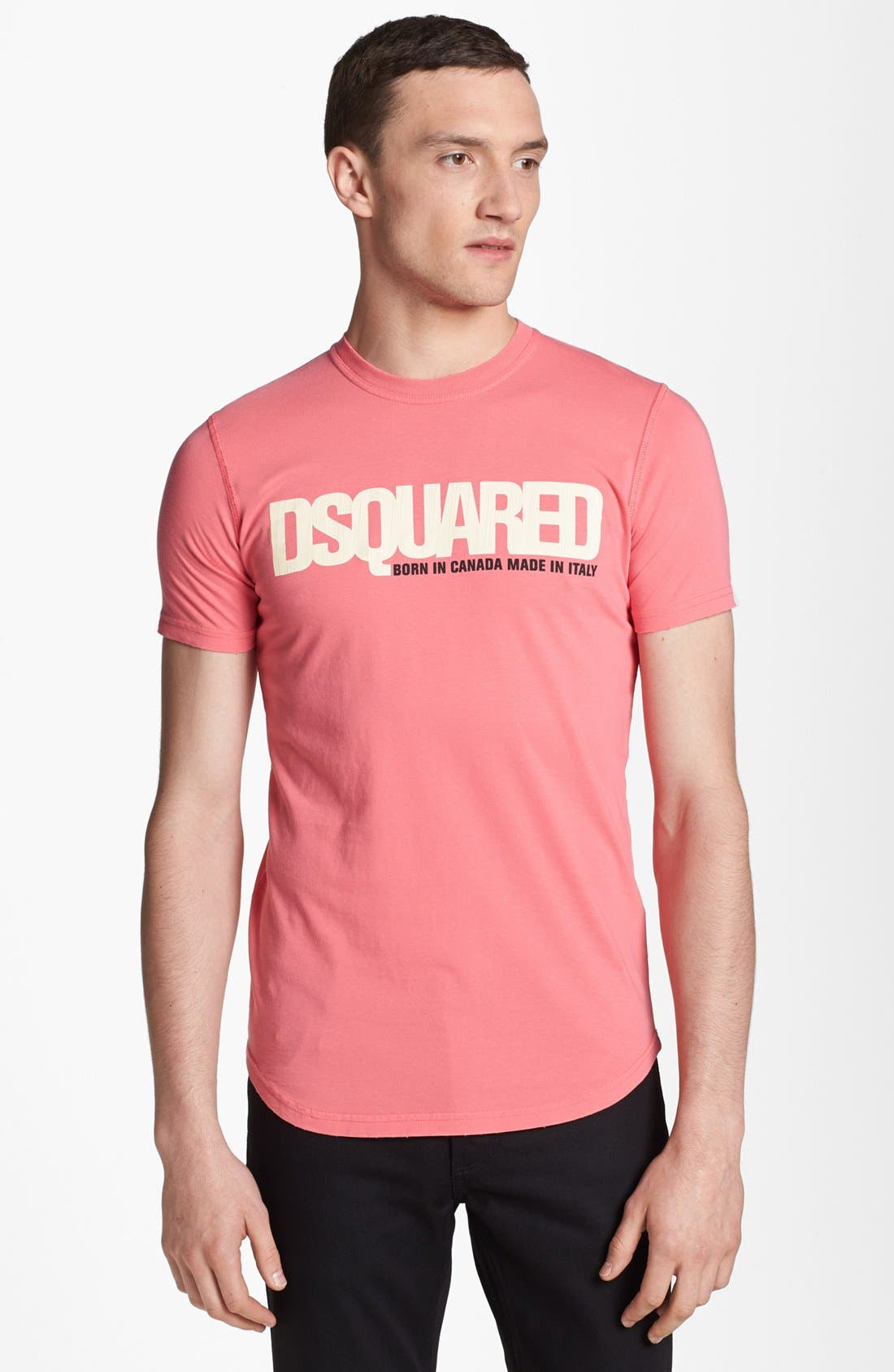Alternate Image 1 Selected - Dsquared2 Logo Graphic T-Shirt