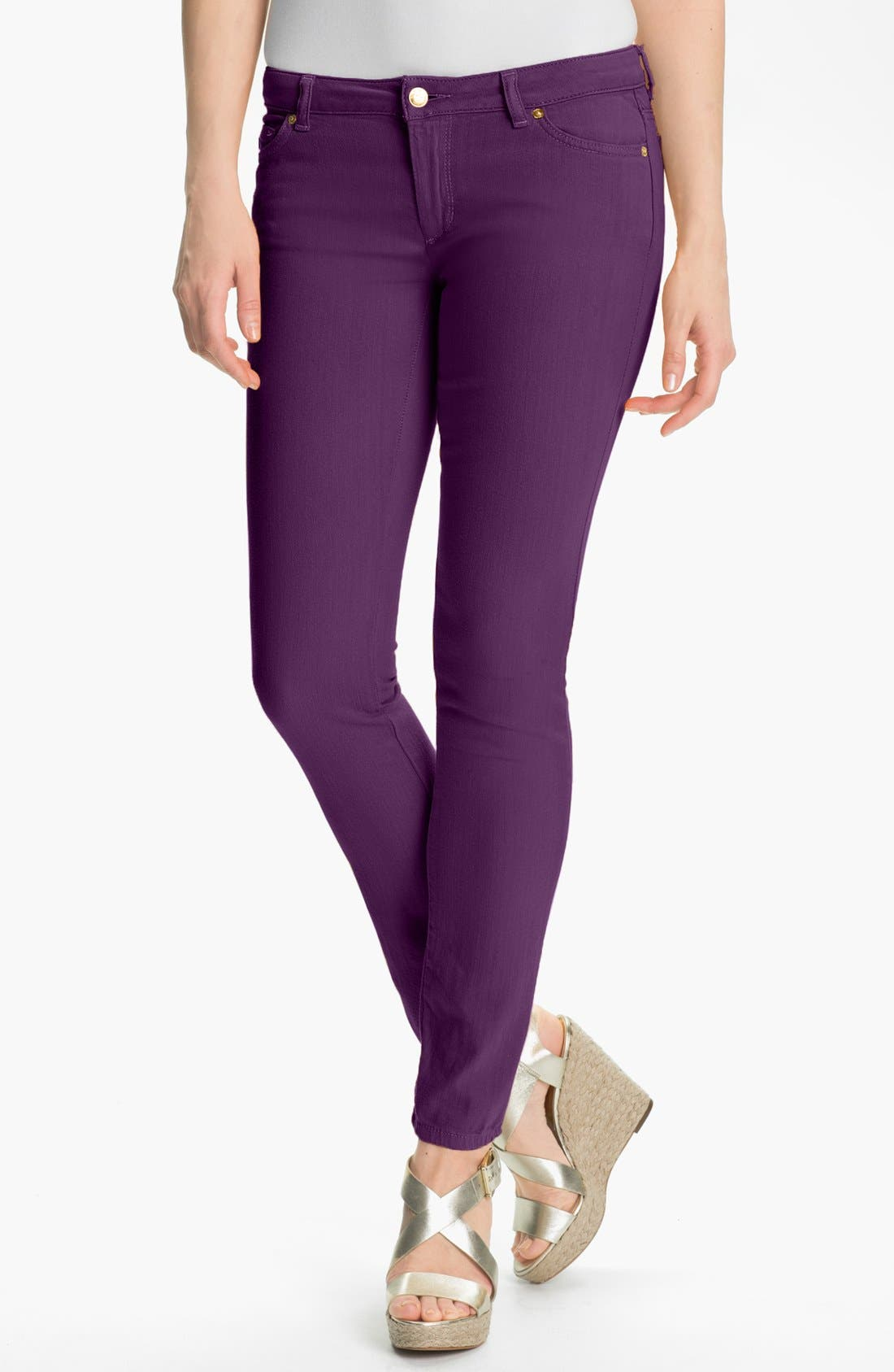 Alternate Image 1 Selected - MICHAEL Michael Kors Color Skinny Jeans