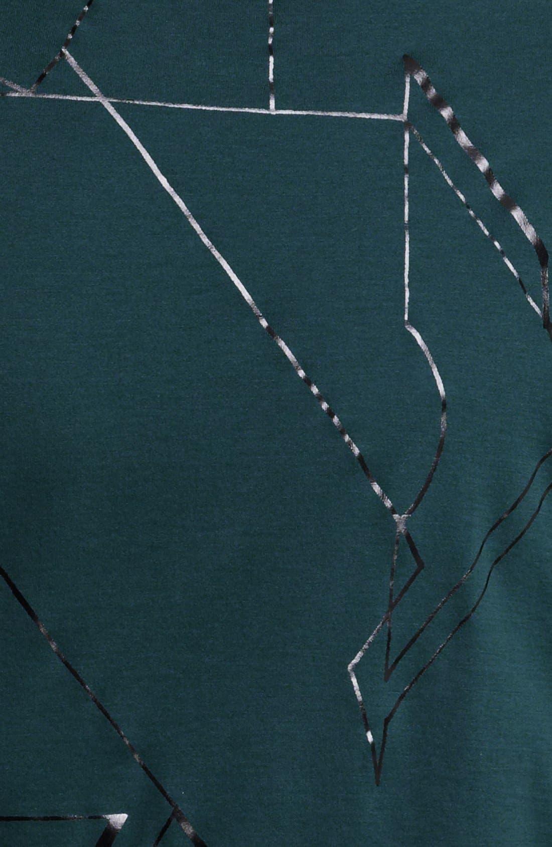 Alternate Image 3  - Lanvin Geometric Graphic T-Shirt