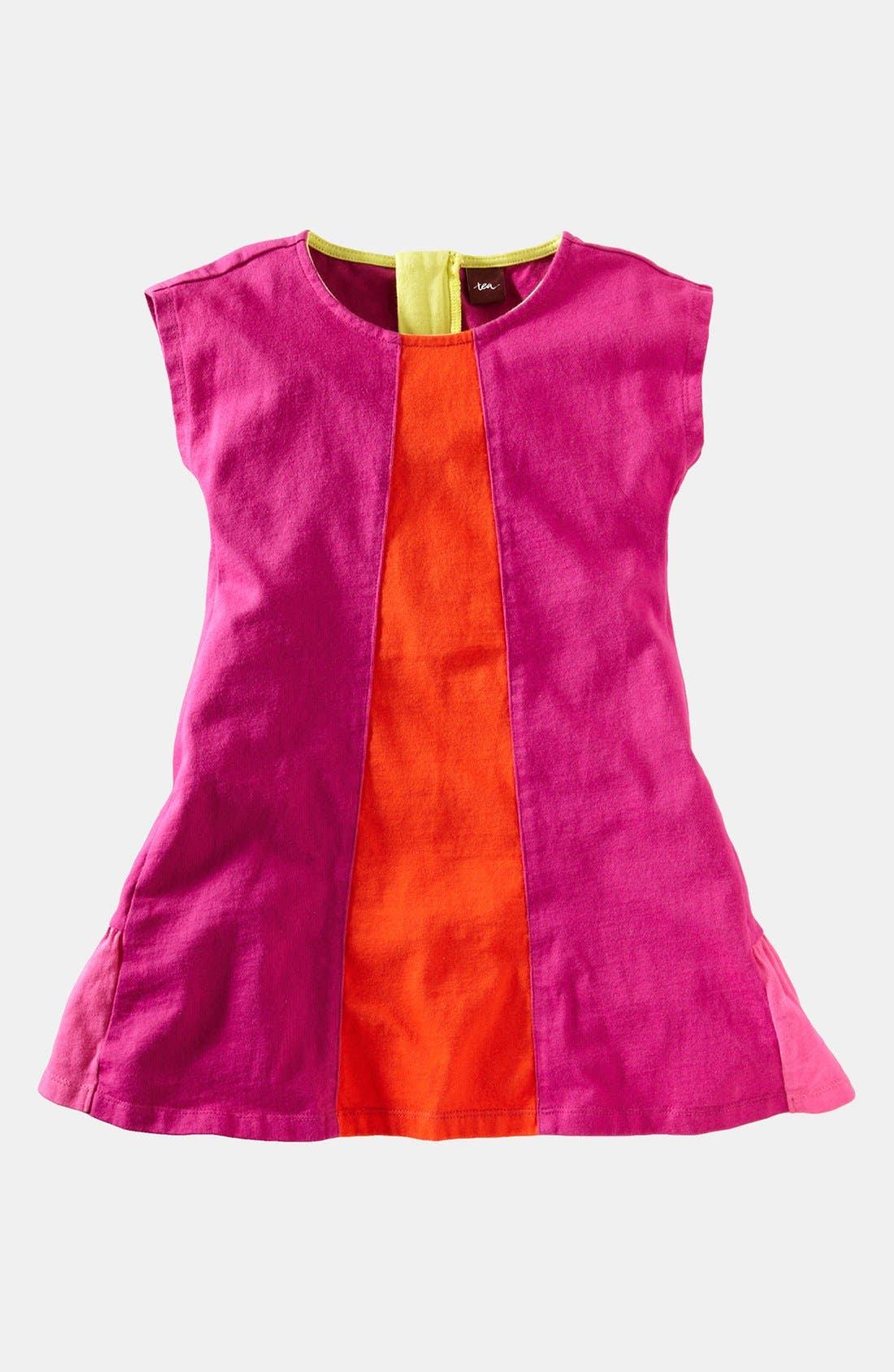 Main Image - Tea Collection Colorblock Dress (Baby Girls)