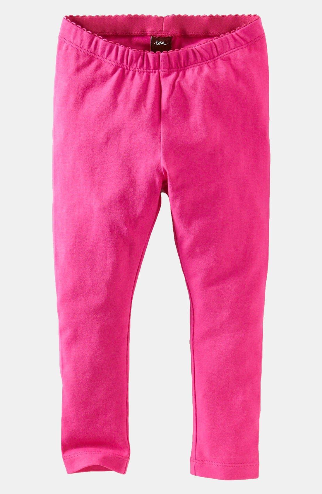 Main Image - Tea Collection Skinny Stretch Leggings (Toddler Girls)