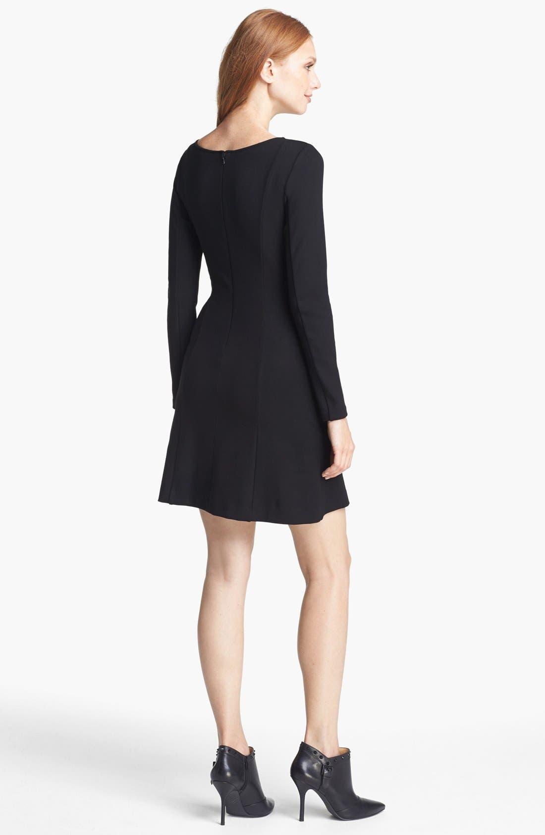 Alternate Image 2  - Theory 'Pavali' Knit A-Line Dress (Online Only)