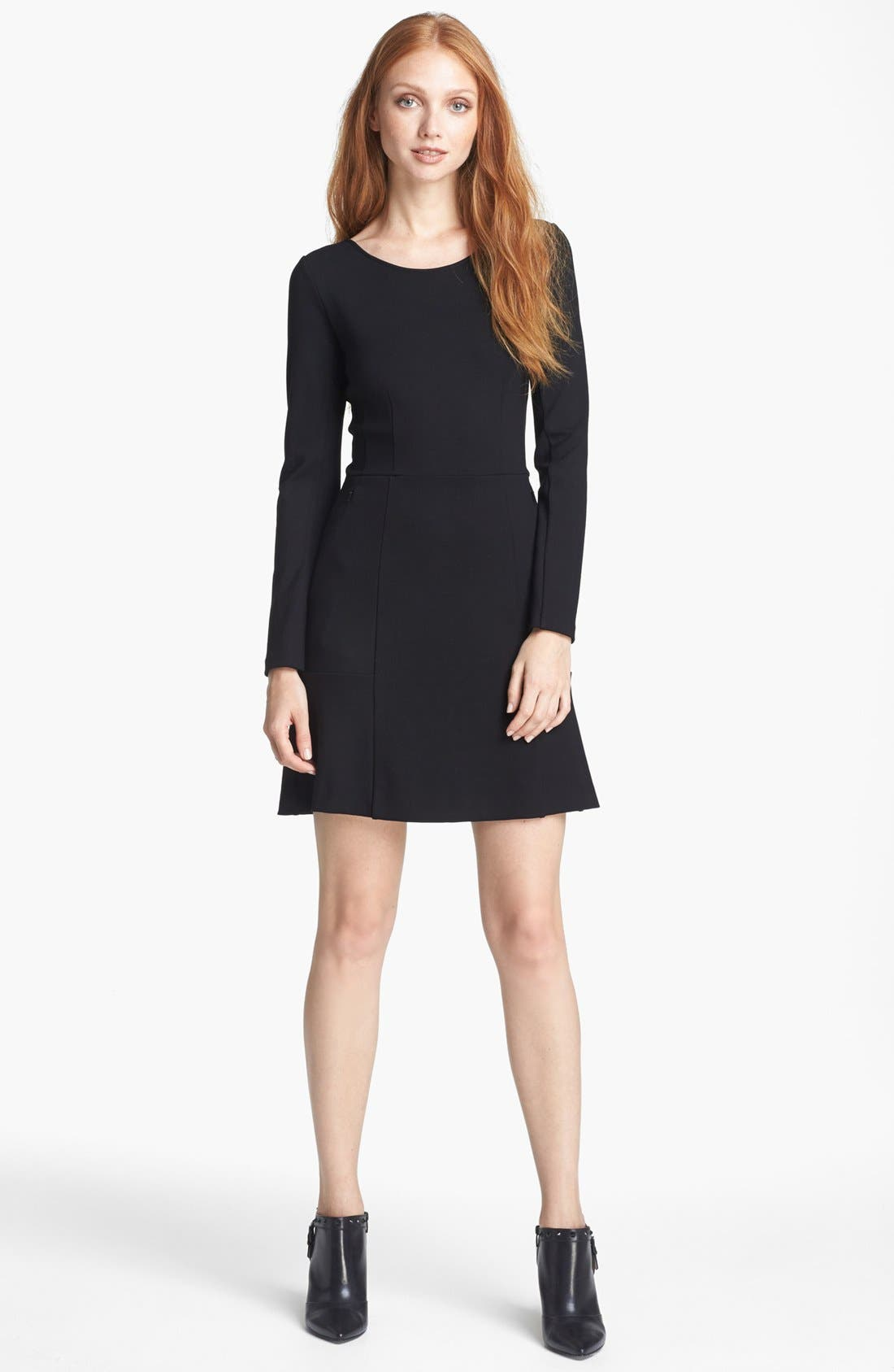 Alternate Image 1 Selected - Theory 'Pavali' Knit A-Line Dress (Online Only)