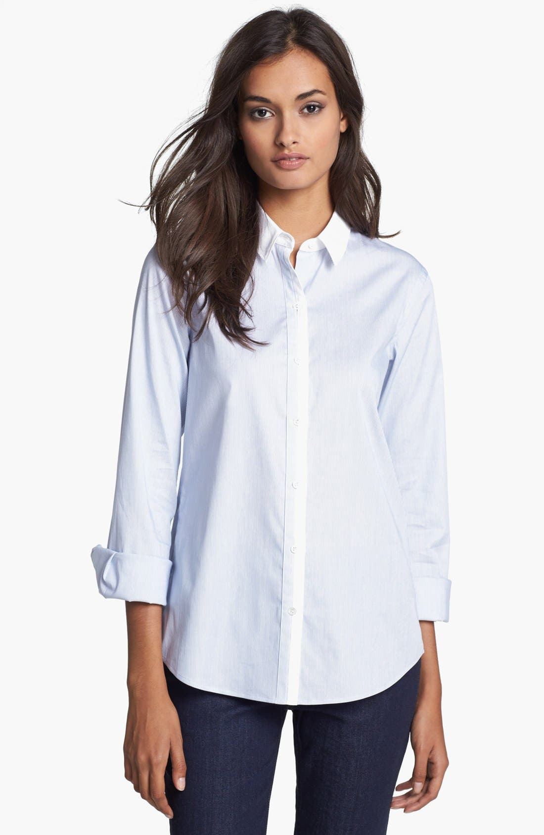 Main Image - Theory 'Yasa' Stretch Shirt