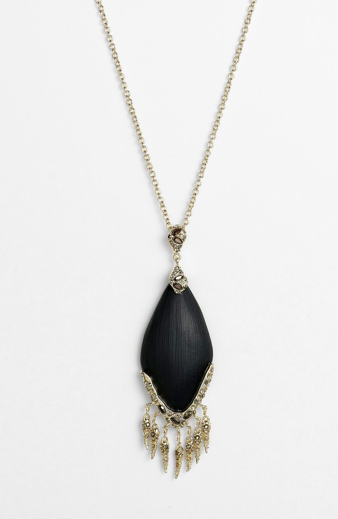 Alternate Image 2  - Alexis Bittar 'Lucite® - Neo Bohemian' Long Fringe Pendant Necklace