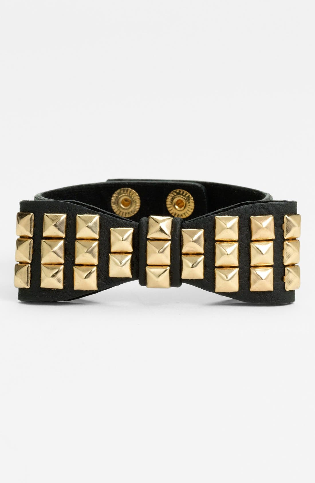 Main Image - Orion Pyramid Stud Bow Bracelet