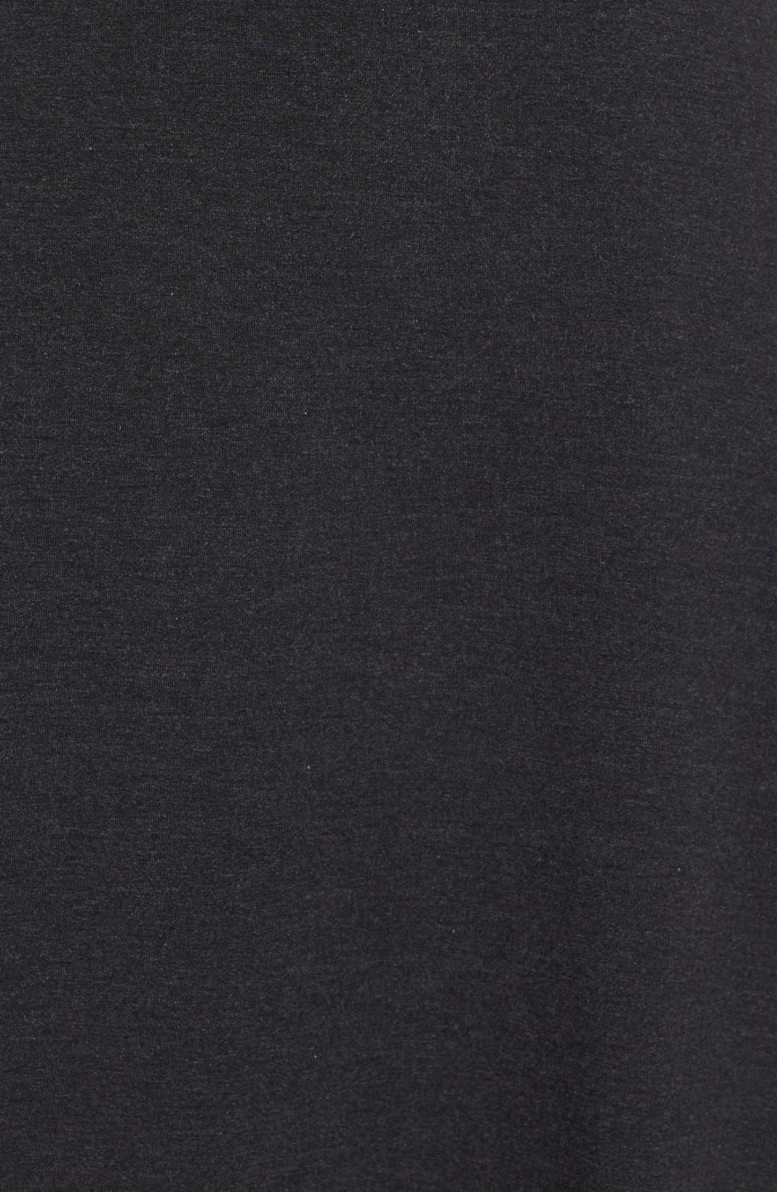 Alternate Image 3  - Eileen Fisher Asymmetrical Jersey Midi Skirt
