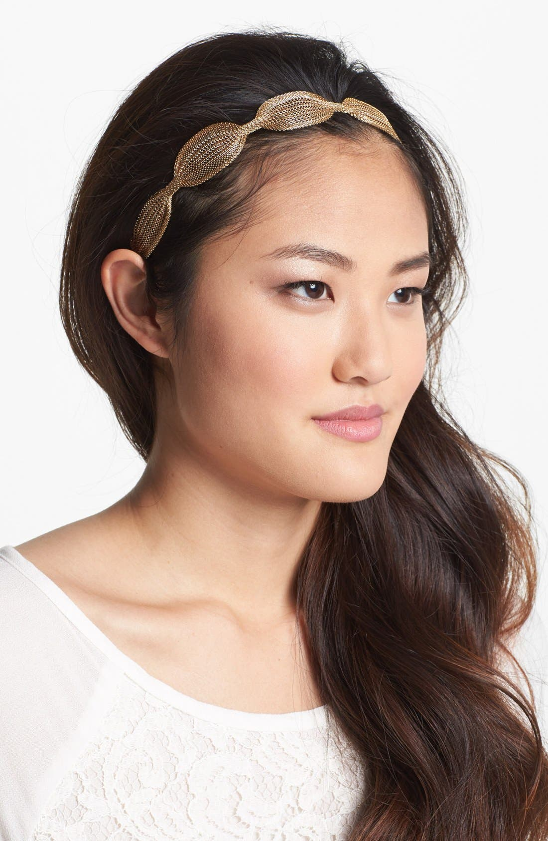 Main Image - Tasha Soft Metal Head Wrap