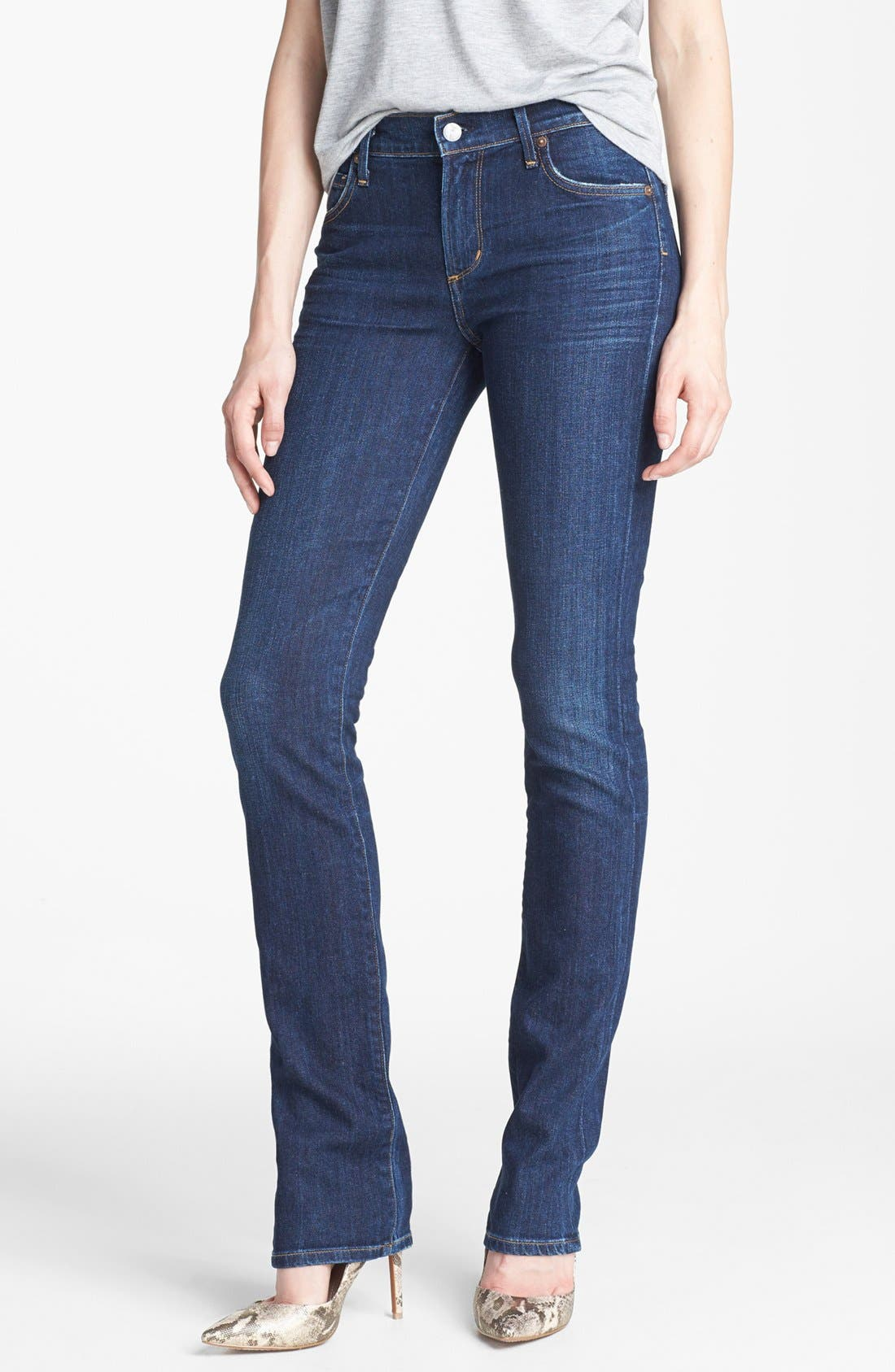 Alternate Image 1 Selected - Citizens of Humanity 'Elson' Mid Rise Straight Leg Jeans (Element)