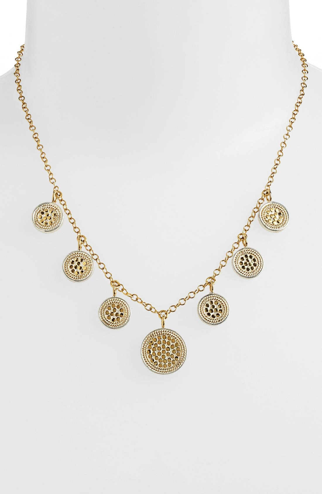 Alternate Image 1 Selected - Anna Beck 'Gili' 7-Disc Charm Necklace