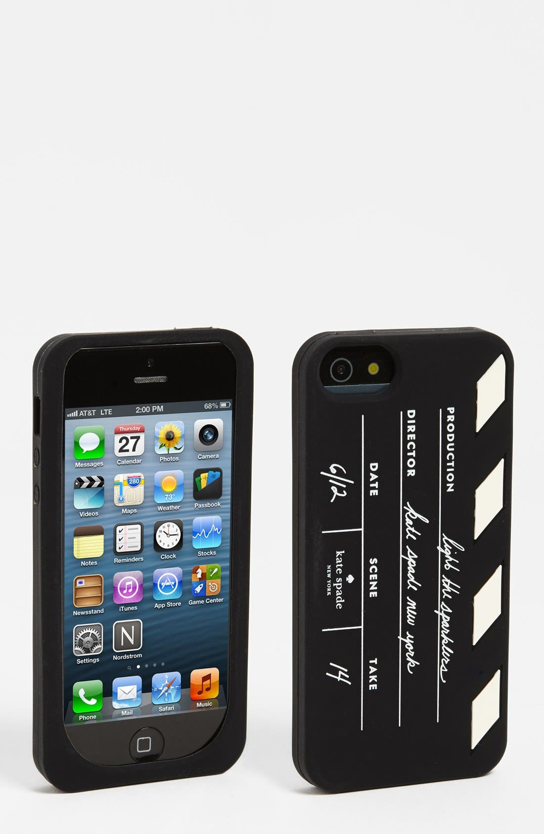 Main Image - kate spade new york 'clapboard' iPhone 5 & 5S case