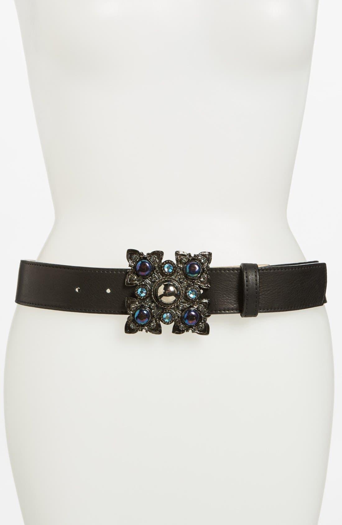 Alternate Image 1 Selected - Leatherock Leather Belt
