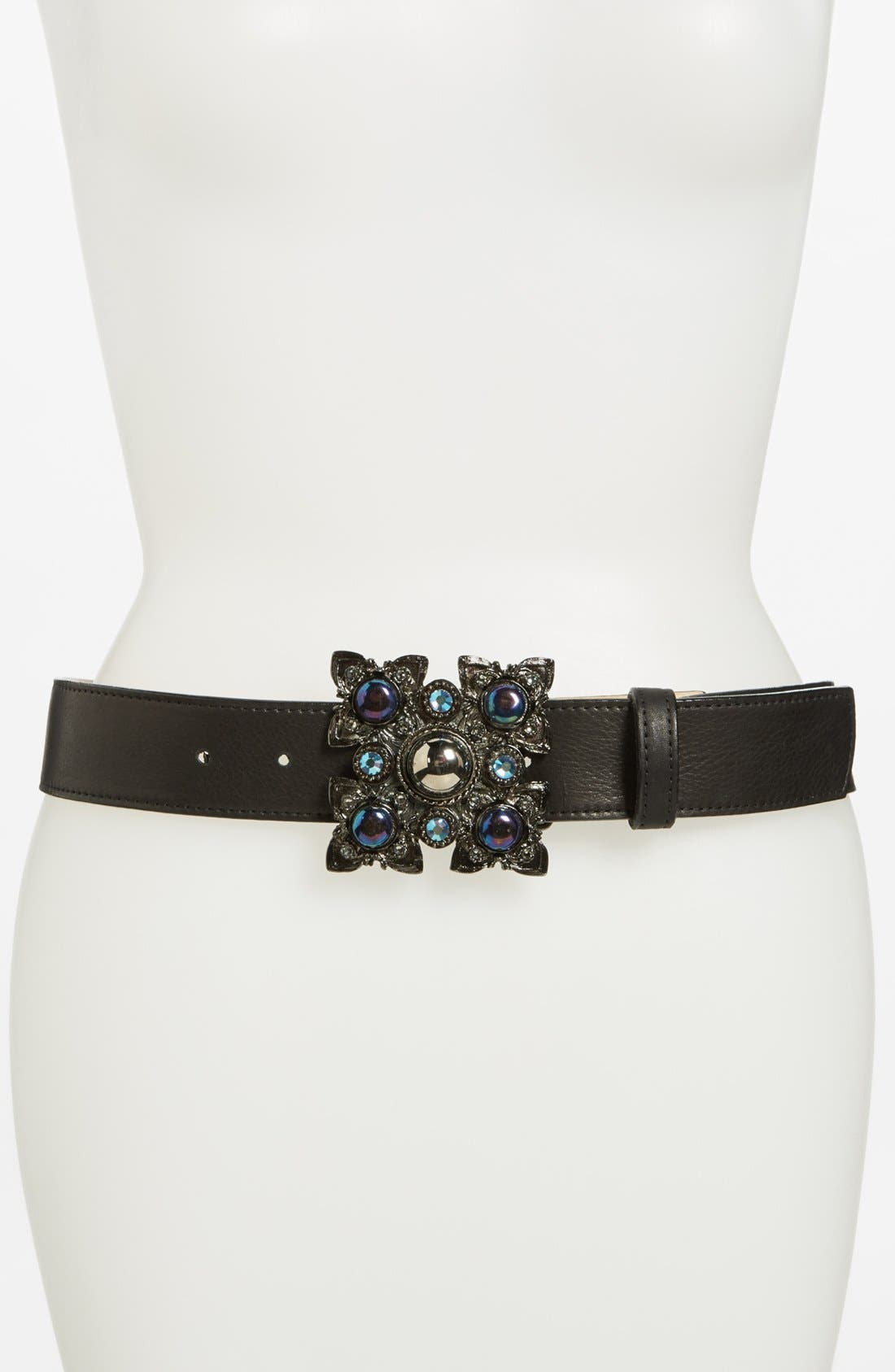Main Image - Leatherock Leather Belt