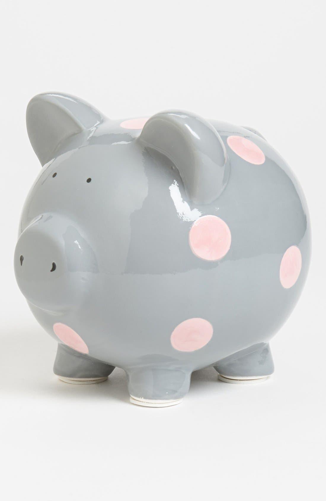 Alternate Image 1 Selected - Elegant Baby 'Classic' Ceramic Piggy Bank
