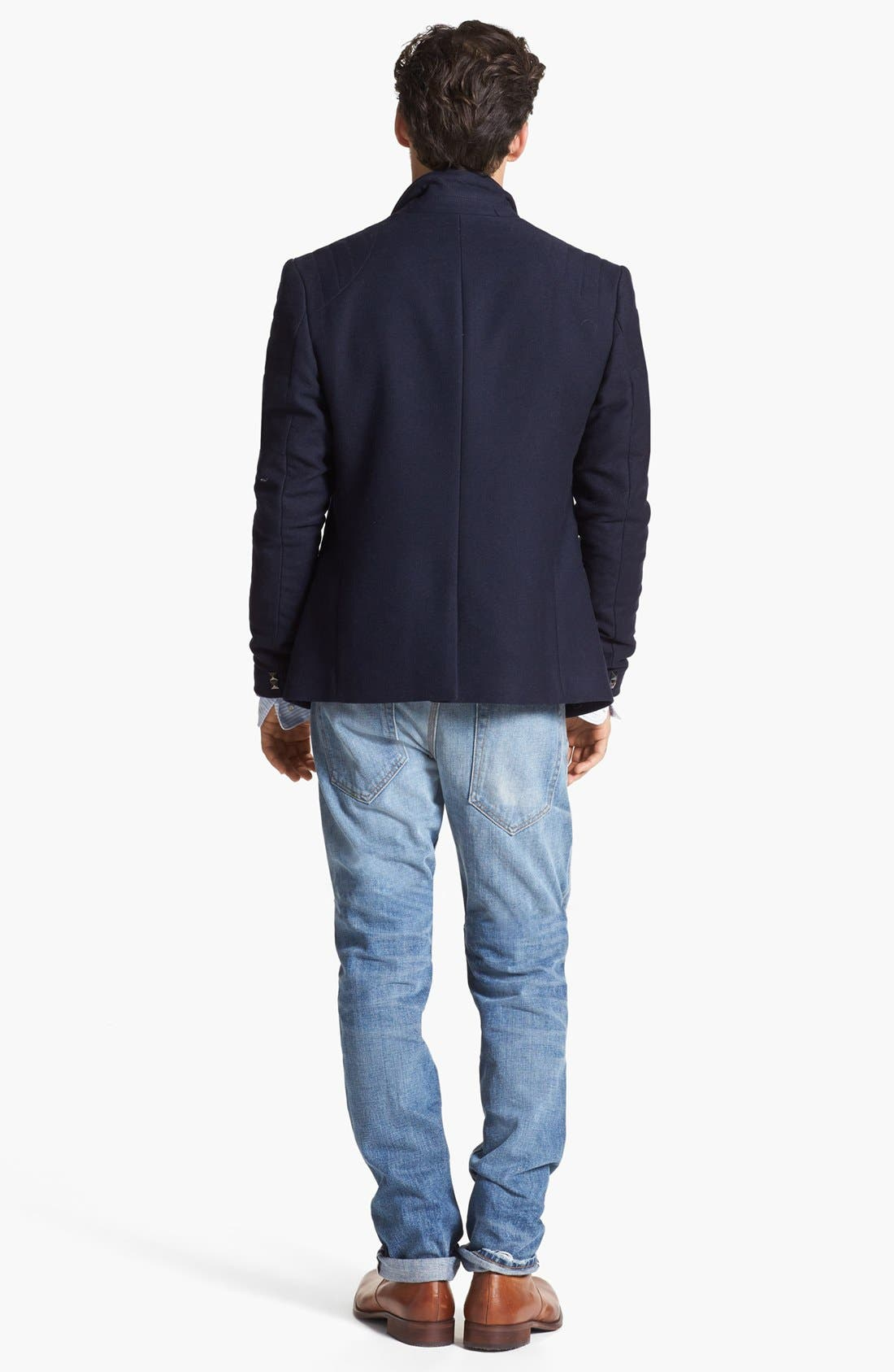 Alternate Image 5  - Edun Moto Stitch Sportcoat