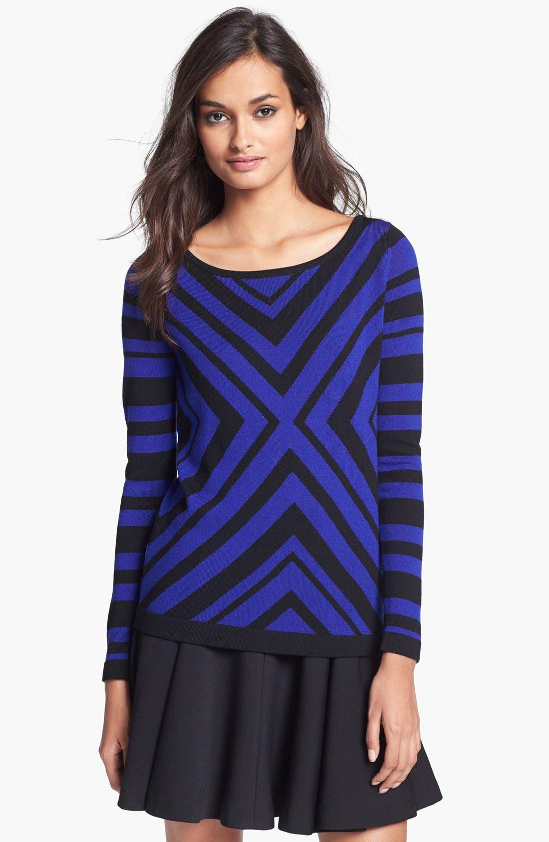 Alternate Image 1 Selected - Milly Merino Wool Sweater