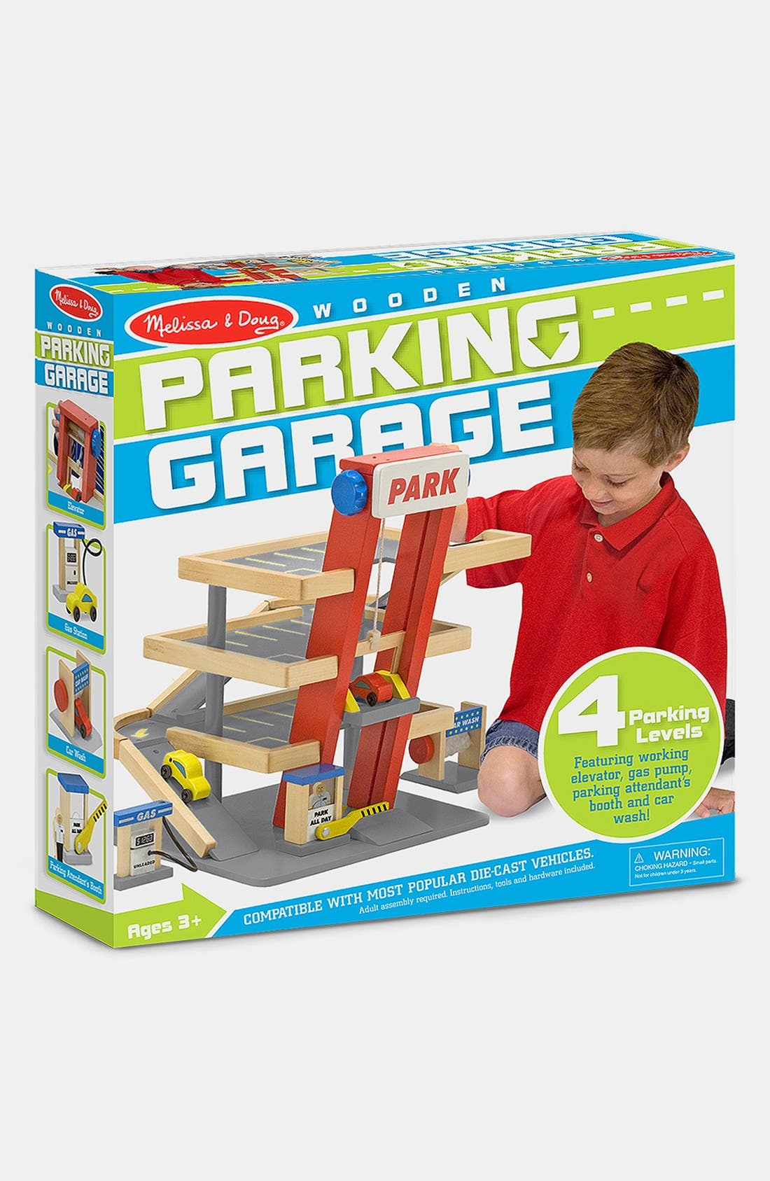 Parking Garage,                             Alternate thumbnail 6, color,                             Tan Multi